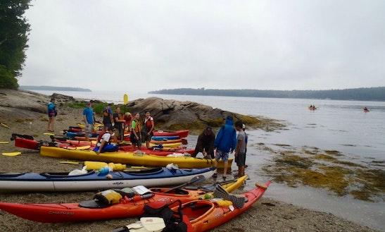 Sea Kayak Rental In Maine