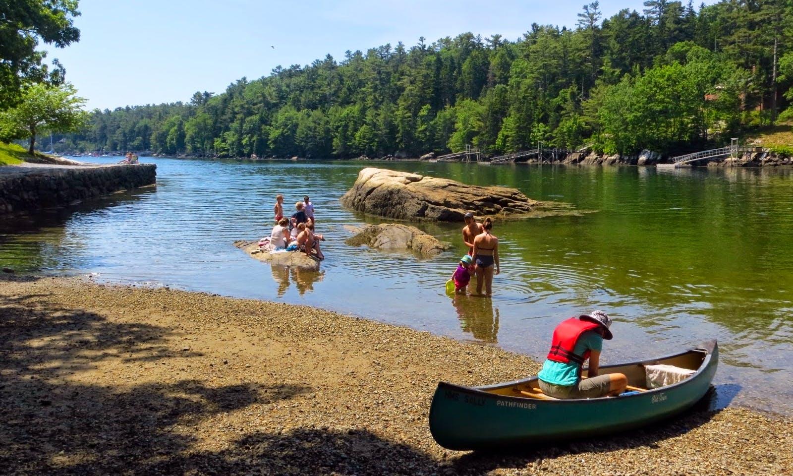 Canoe Rental in Damariscotta, Maine