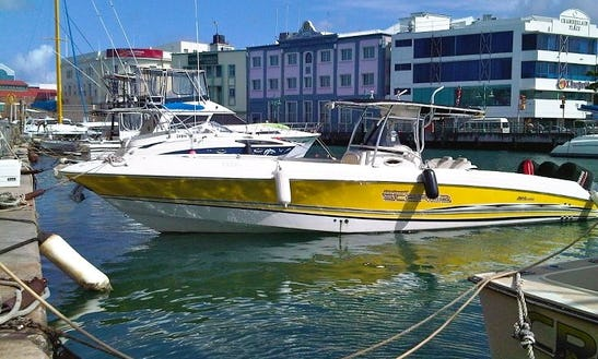 Ride Thrill Seeker 35ft Scarab Off-shore Powerboat In Barbados