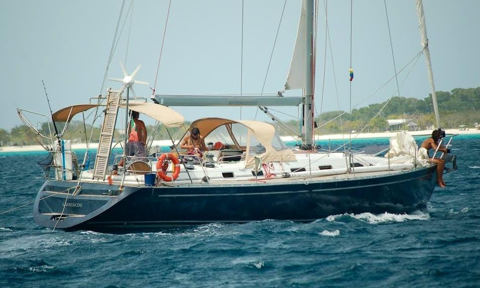 50' Cruising Monohull Charter in San Blas, Panama