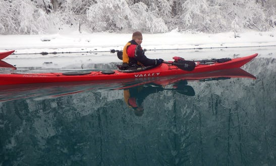 Single Sea Kayak Rentals & Demonstrations In Alaska