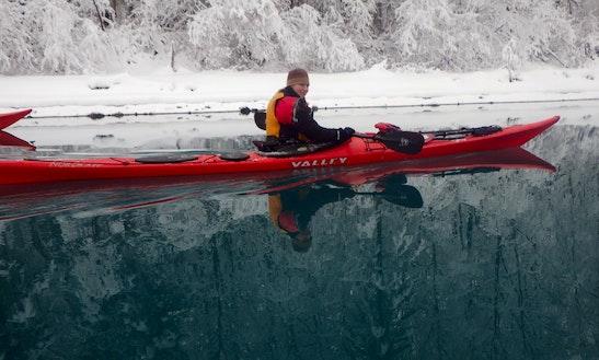 Single Sea Kayak Rentals & Demonstrations In Alaska