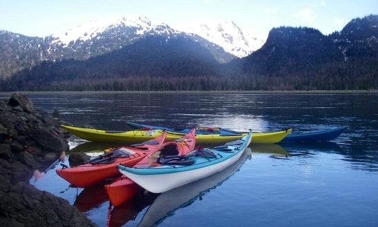 Double Sea Kayak Rentals & Demonstrations In Alaska