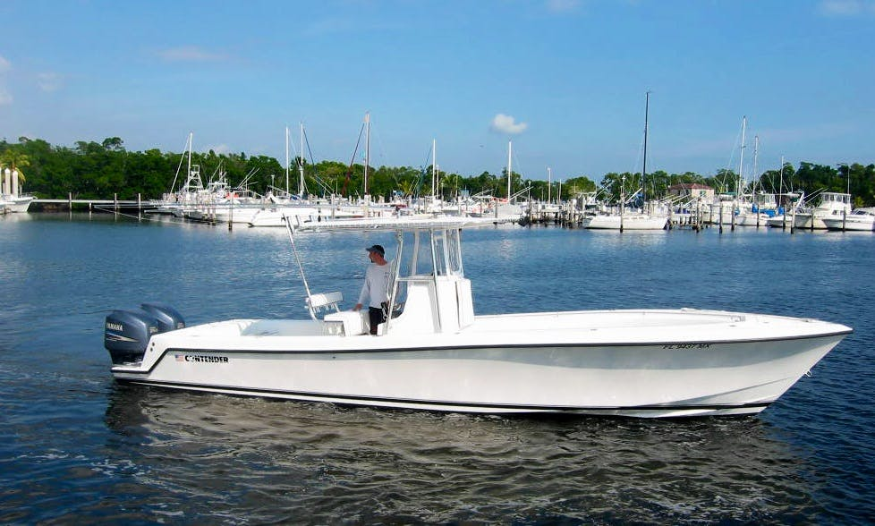 "31ft ""4 My Boys"" Contender Fishing Charter In John Island, South Carolina"
