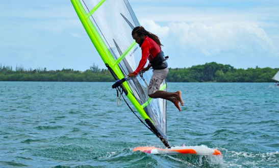 Windsurfing Lesson In Trinidad And Tobago