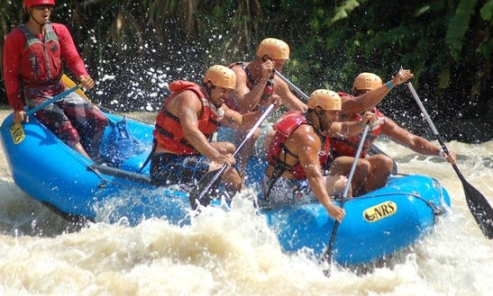 Half Day Whitewater Rafting Tour In Quepos