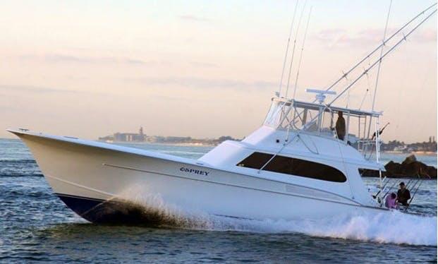 "60ft ""Osprey"" Taylor Harrison Custom Carolina Boat Charter in West Palm Beach, Florida"