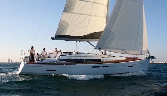 Charter Sun Odyssey 409 Sailing Yacht In Greece