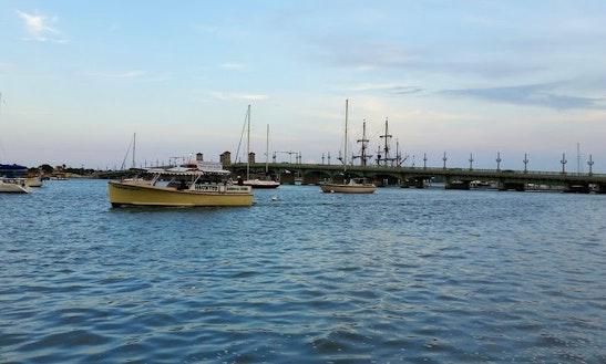 50ft Passenger Boat Charter In St Augustine, Florida