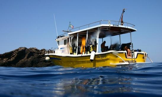 Diving Boat Rental In Palermo