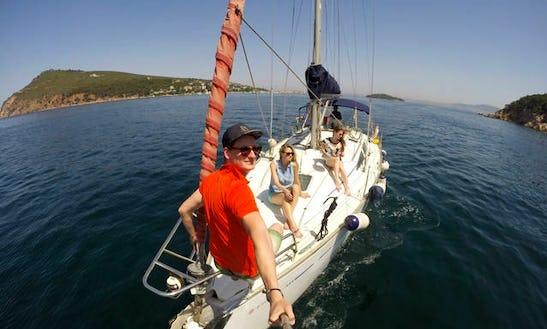 Sailing In Princes' Islands