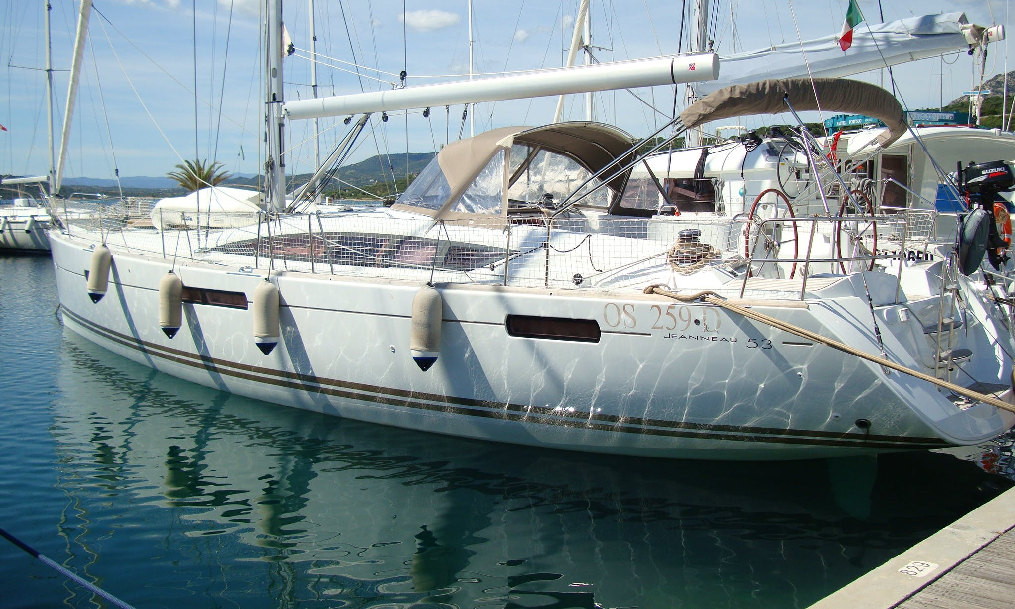 Jeanneau 53 Cruising Yacht for 12 Person in Portisco, Italy