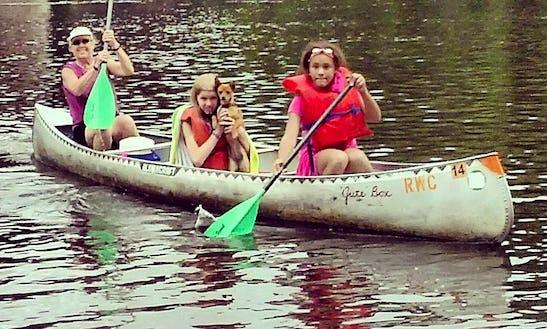 Canoe Rental In Osceola With Riverwood Canoe