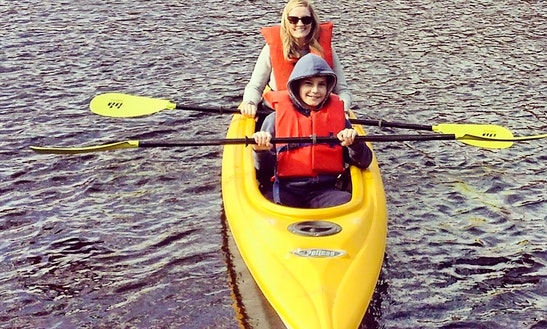 Tandem Kayak Rental In Osceola With Riverwood Canoe