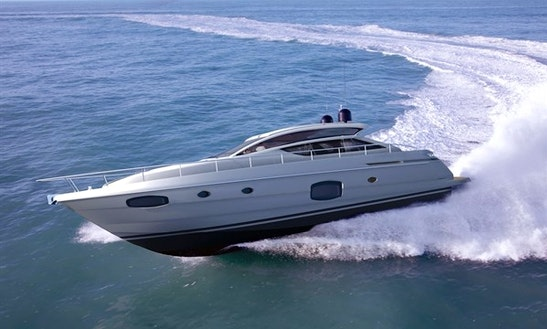 Pershing 62 Luxury Yacht Rental In France