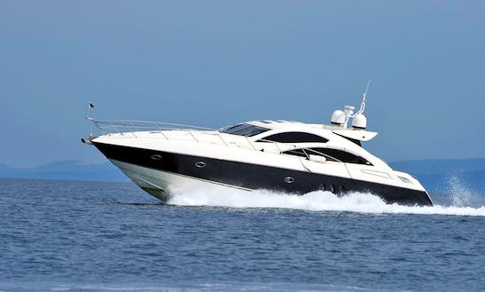 Sunseeker Predator 62 Yacht Rental In France