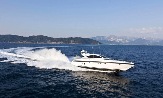 Mangusta 72 Yacht Rental In France