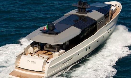 Arcadia 85 Yacht Rental In France