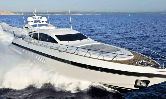 Mangusta 92 Luxury Yacht Rental In France