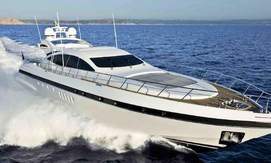 Mangusta 92 Luxury Yacht Rental In France