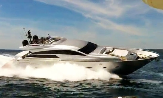 Pershing 92 Yacht Rental In France