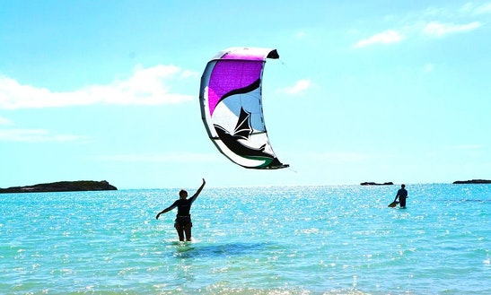 Kiteboarding In Caicos Islands