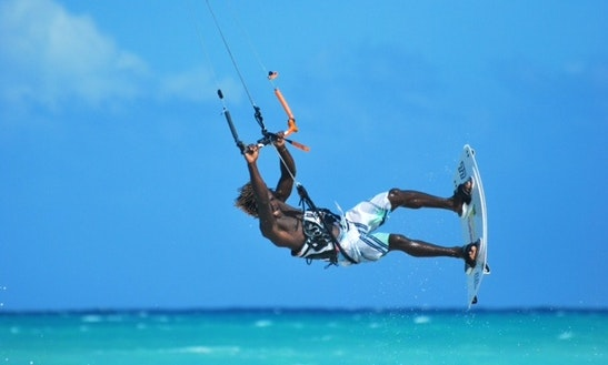 Kiteboarding In Falmouth, Jamaica