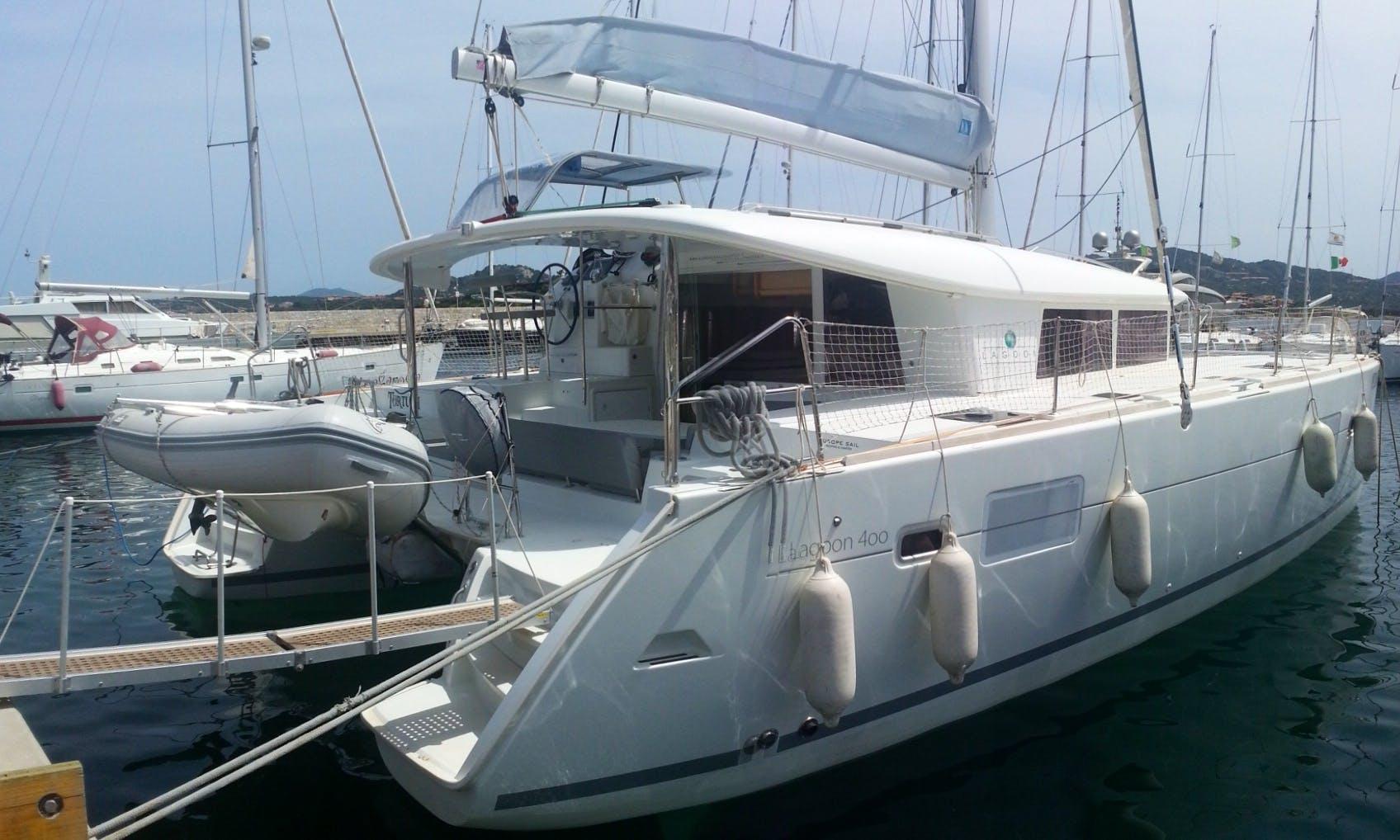 Cruising Catamaran Rental in Portisco