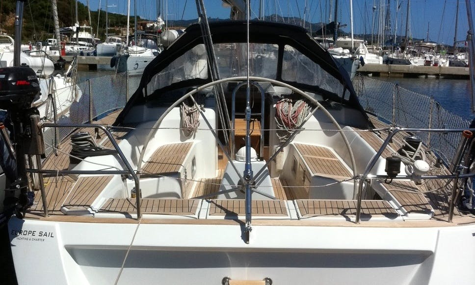 Grand Soleil 45 Sailing Yacht Charter for 8 Person in Portisco, Italy