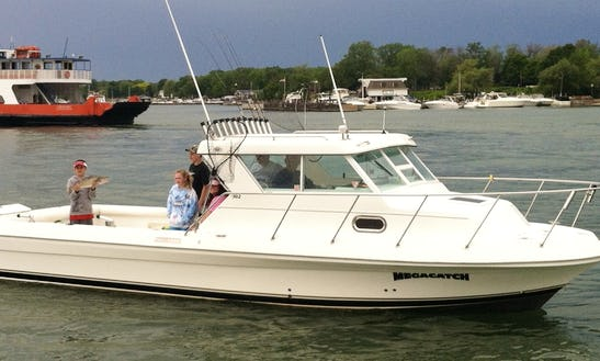 Lake Erie Fishing Charters - Kelleys Island, Oh
