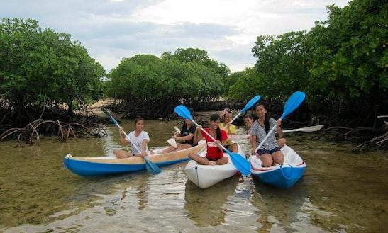 Kayaking  In Klungkung