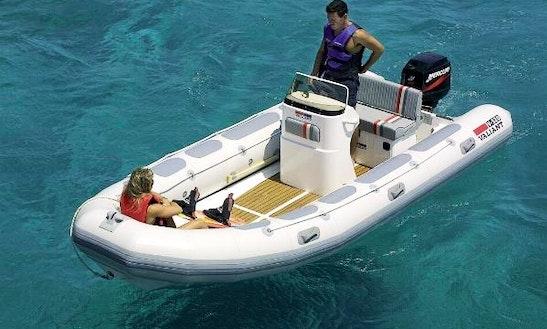 Rib ''valliant 520 Vanguard'' Rental In Marseille