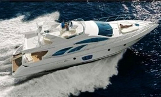 Luxury Azimut 62 Evolution Power Mega Yacht Charter In Marseille, France