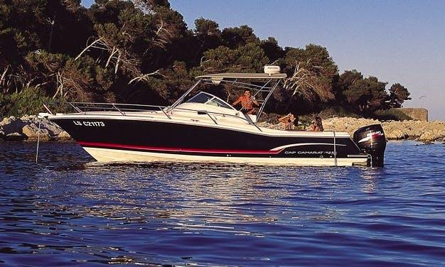 Hire a Luxury Cap Camarat 9.25 Motor Boat in Marseille, France