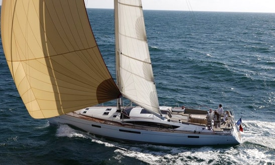 Charter 56' Jeanneau Sailing Yacht In Greece