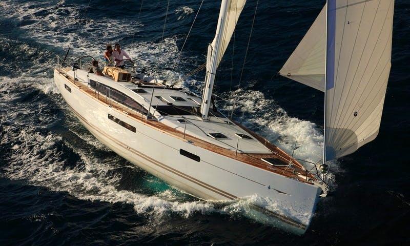 Charter Jeanneau 53 Sailing Yacht  in Greece