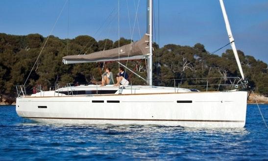 Charter 43' Sun Odyssey Yacht In Greece