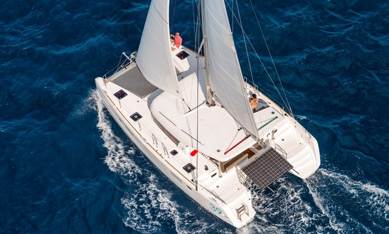 Charter 39' Lagoon Catamaran Yacht In Greece