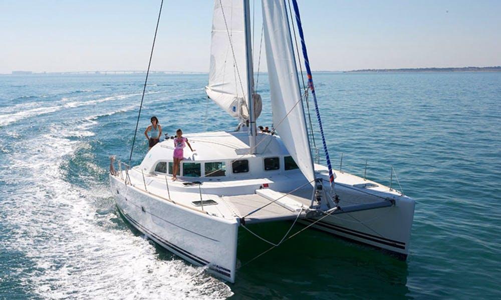 Lagoon 380 Catamaran Charter in Greece