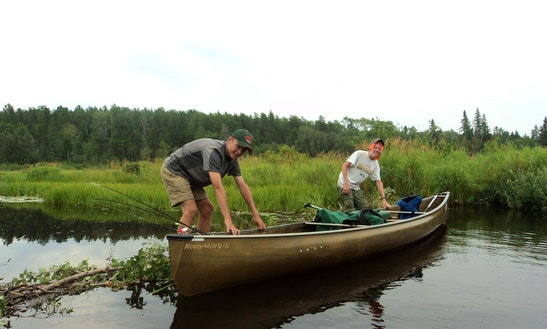 Canoe Trips For 2 Person In Ely, Minnesota