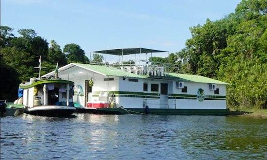 Rio Cuiuni Fly-in Floating Safari Camp