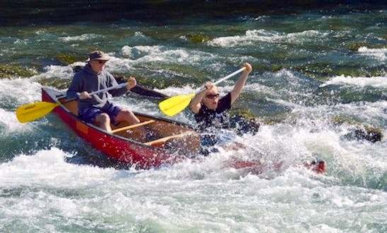Canoe Floating Trips On The North Fork