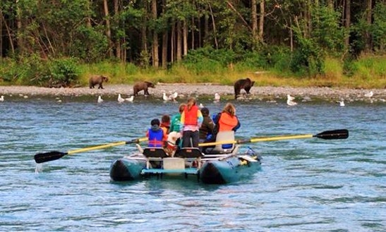 Raft Trips & Adventure Photography In Cooper Landing, Alaska