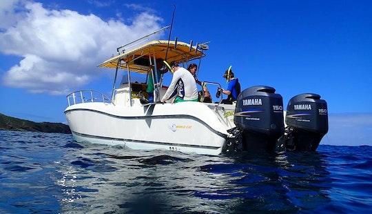 Boating Adventure In British Virgin Islands