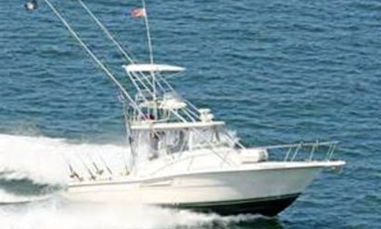 32ft Sport Fisherman Boat Charter In Montauk, New York