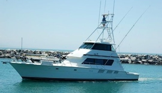 Private Hatteras Yacht Charter For 6 Person In Dana Point, California