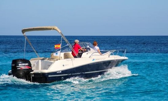 Rent 23' Jeanneau Boat In Balearic Islands, Spain