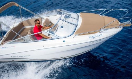 Rent 21' Jeanneau Power Boat In Illes Balears, Spain