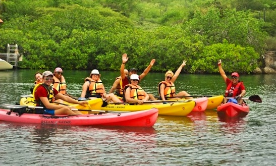 Guided Kayak Tours In Curacao