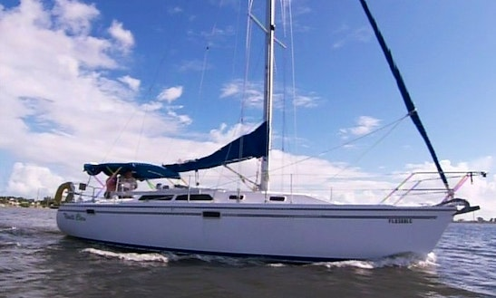 Cruising Monohull Charter In Melbourne, Florida